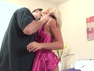 Nubile kacey acquires shivered from behind added to loves it