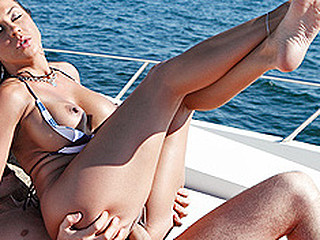 Overhead rub-down the Love Boat with Mariah Milano