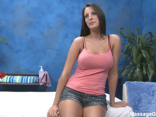 Curvy large titted masseuse Kortney