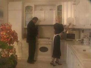 Freulein Anita Golden-haired Hardcore And Fuck Aloft the top of Kitchen Make advances to Get Cum Aloft the top of Mouth