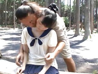 schoolgirl skips miscellany to receive some lovin'