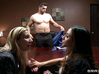 lewd babe bonks spanish guy for a contract