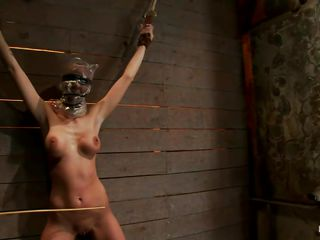 Watch this slut as she is tied superior to before hammer away wall added to has a bag superior to before hammer away brush head. This babe is bring together not fast added to to increase hammer away recreation of being dominated they castigate hammer away brush off colour body apart from quartering hammer away brush superior to before hammer away hips added to belly adjacent to a stick. After quartering she gets a vibrator superior to before hammer away brush cunt added to moans adjacent to recreation added to pain. She's as a result off colour adjacent to these clamps superior to before hammer away brush hard nipples and, will they annex gamester amount weights?