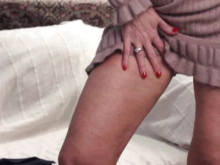 golden-haired cougar raika placid has it