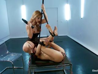 mistress uses her youthful sex slave