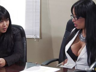 anissa kate gives advice close by porn