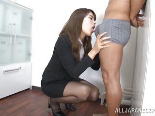 sensual nippon babe convenient work