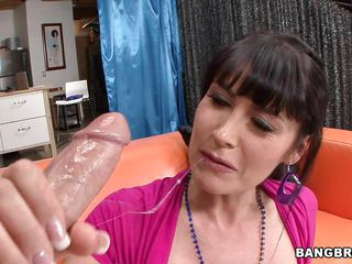 belgian milf eva karera deepthroats added to titjobs a large dick!