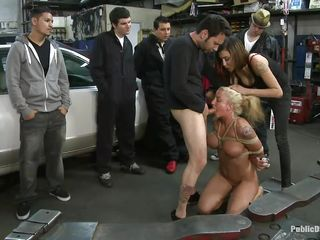 leya falcon gets ravaged by white bushwa
