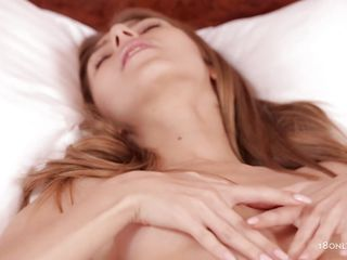 18 yo Anjelica is all alone in the room and that babe slowly touches herself, playing with her small natural tits and rubbing her nipples before that babe spread her sexy haunches in front of us and shows us a beautiful, shaved cunt that is expecting for cock and cum in it. Have a fun watching this glamorous hottie rubbing that cunt for us.