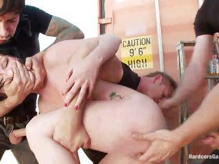 grabbed and group-fucked brutally