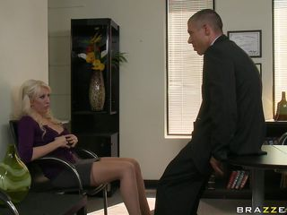hot blond fucks be useful to a new job