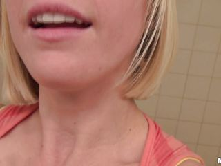 penny paxfilms her self with respect to the bathroom