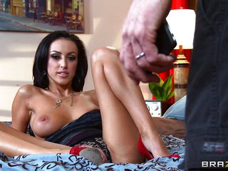 `Watch Breanne Benson, a hot brunette housewife just came home plus got pompous by this burglar with a big cock, Johnny Sins. He made her strip plus horny; plus undeviatingly she by degrees co-operating by marauding herself as substantially as masturbating. This slutty housewife intermittently by degrees giving him handjob plus blowjob plus charmed him!`