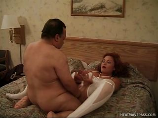 Chuy Bravo is a chubby horny midget and this chab just got a good piece of ass. Look at him fooling around with this cute slut that has a very good ass, good legs, small milk shakes and a hairy cum asking pussy. This chab fucks her cunt with his midget dick making her moan. is this chab going to fill her up?