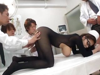 nylon overspread asian nurse