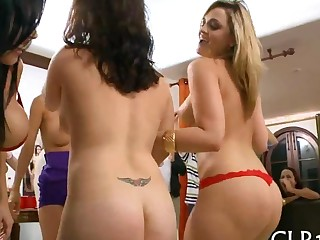 Lap dances for the boys and hot girls movie 10