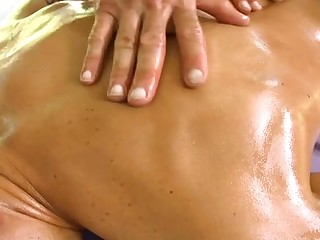 Sexy massage innings for attractive gay stud