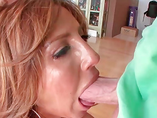 Tara Holiday gives great oral with an increment of gets masterly slammed