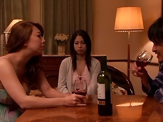 Yumi Kazama, Minami Ayase in Young Wife Ripe Bitch 5 part 2.3