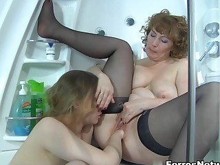 GirlsForMatures Video: Flo with the addition of Alana