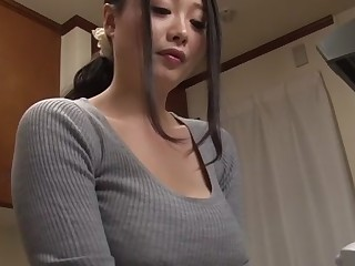 Crazy Japanese explicit Sakura Kawamine in Amazing couple, handjobs JAV movie
