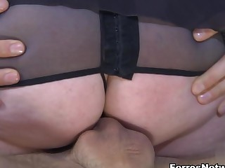 StunningMatures Video: Caroline M with an increment of Gerhard