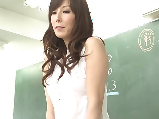 Crazy Japanese protest Homami Takasaka with reference to Oversexed rimming JAV motion picture