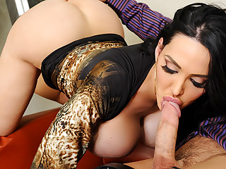 Amy Anderssen & Johnny Castle nigh Naughty Office
