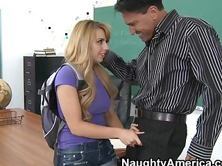 Lexi Belle & Marco Banderas in Naughty Book Worms