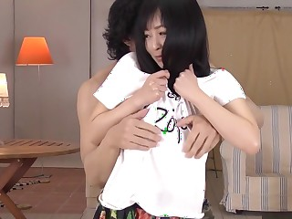 Best Japanese whore Nozomi Hatsuki near Crazy JAV well-proportioned Blowjob video