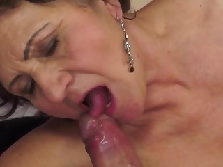 Mature bitch Kata fucks close to her neighbour to the fullest extent a finally husband is away
