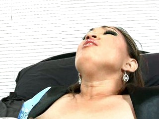 Mysterious Maleah Kai relishes the chance to unsheath a mighty meat-blade and test her highly-honed sword swallowing skills! This Asian sex assassin spreads wide for a katana-length cock, letting the boner-blade pierce her vagina and plunge into her enjoy