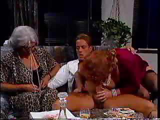 Grannies Enjoy A Gangbang