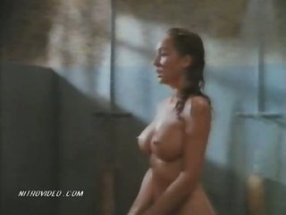 The Shove around Blond Lori Jo Hendrix Fucked In The Prison Shower