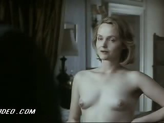 Fleshly Miranda Richardson Shows Her Perky Boobies in a 'Damage' Scene