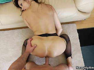 Steamy POV scene with asian beauty Katsuni
