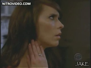 Stunning Jennifer Dote on Hewitt Shows Her Take charge Rack There a Hot Red Raiment