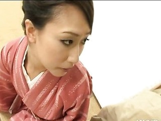 Oriental gal is cum unseeable
