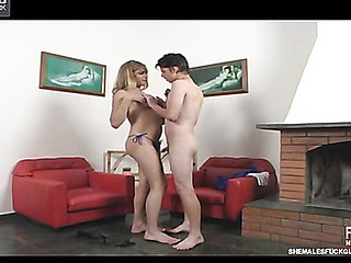 Alexia ladyboy bonks chap activity