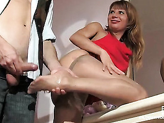 Alice&Mike nasty nylon trotters incident