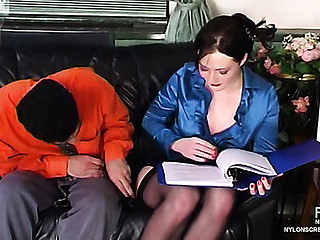 Gwendolen&Sebastian awesome nylon conduct oneself