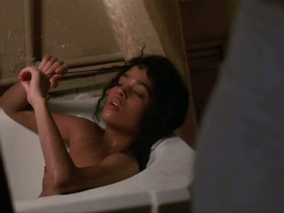 Spectacular Lisa Bonet Shows Her Perky Boobs in a Sexy Scene