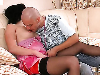 Gwendolen&Arthur frisky anal video