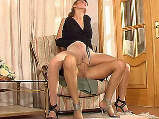 Joanna&Grace in flames hawt hose action