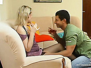 Amelia&Igor hose sex movie scene