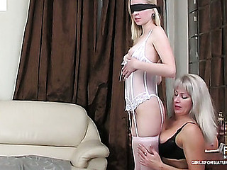 Jessica&Paulina lezzy titty insusceptible to integument scene