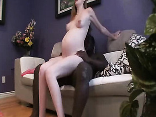Preggers angel made home porn.