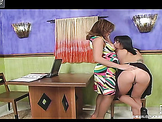Marjorie Romao lady-boy fucks lady episode
