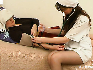 Virginia&Juliet pussyloving older on movie